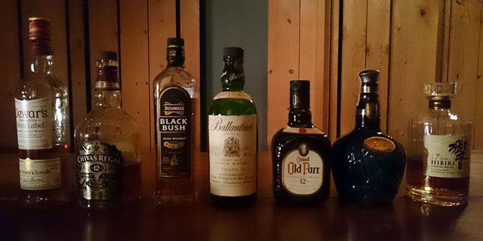 厳選スコッチと日本酒など