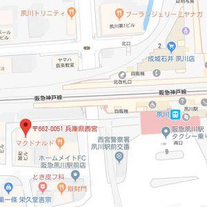 バー遊山・アクセスマップ